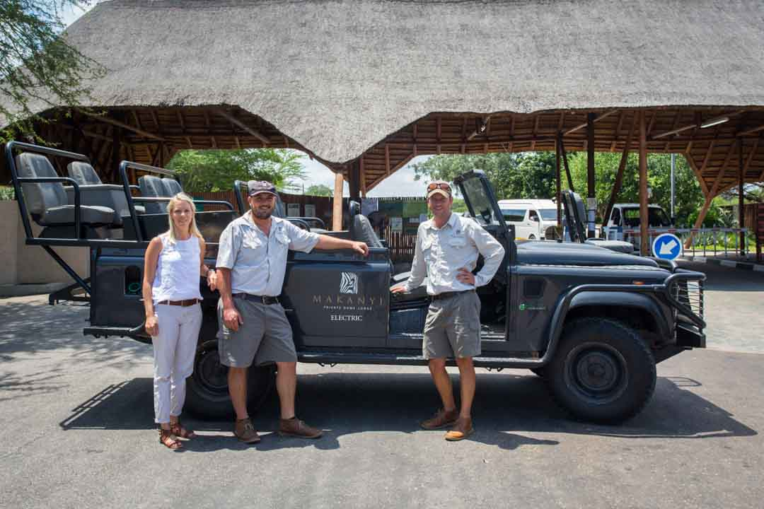 Makanyi Lodge Introduces The First Electric Safari Vehicle In The Timbavati